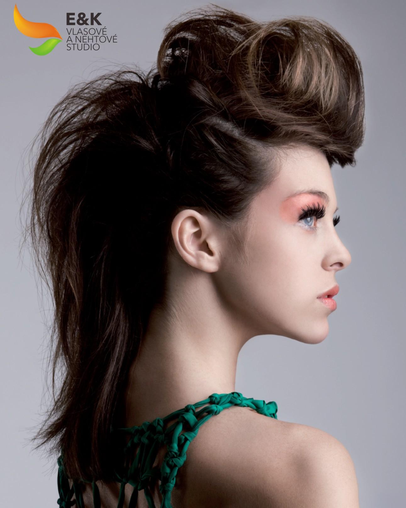Ирокез из длинных волос